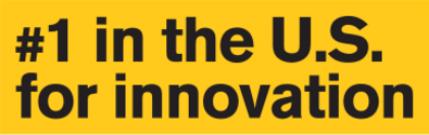 #1 in the U.S. for innovation